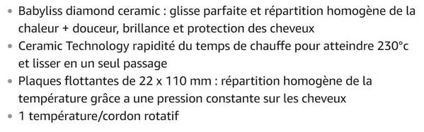 Lisseur Babyliss ST325E Slim 22 mm Protect