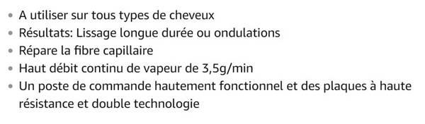 L'Oreal Professionel Steampod 2.0 Lisseur Blanc (prise française)