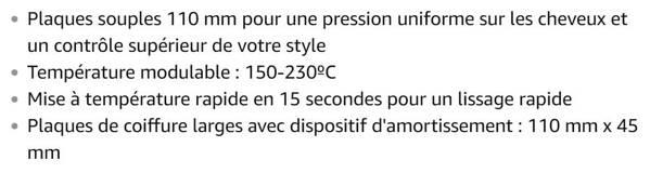 Lisseur Remington S5525 PRO Céramique Extra